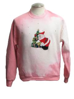 1980's Unisex Color Changing Ugly Christmas Sweatshirt