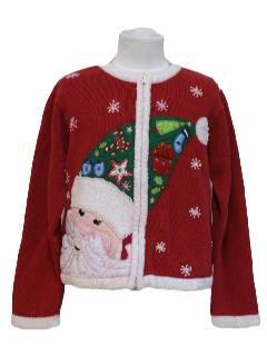 1980's Womens/Child Ugly Christmas Sweater