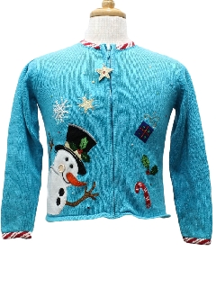 1980's Womens/Chlids Ugly Christmas Sweater