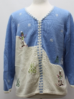 1980's Unisex Ugly Cardigan Christmas Sweater