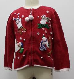 1980's Womens/Childs Ugly Christmas Sweater