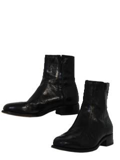1980's Mens Accessories - Shoes / Mod Ankle Boots