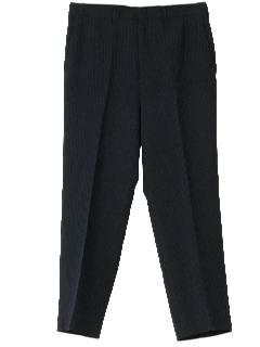1970's Mens Flat Front Pants
