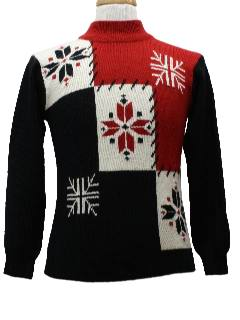 1980's Womens  Christmas Sweater