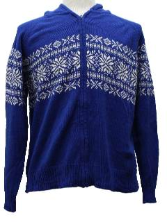 1980's Womens Christmas Ski Sweater