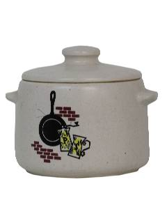 1950's Home Decor - Bean Pot
