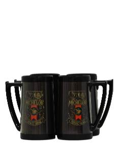1970's Home Decor - Beer Mug Set