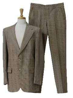 1970's Mens Seersucker Suit