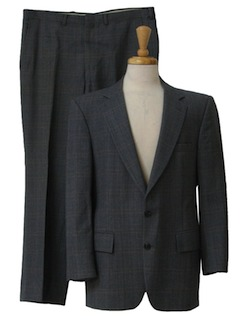 1980's Mens Classic Wool Suit