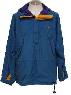 1980's Mens Totally 80s Anorack Jacket