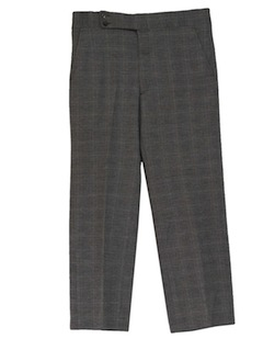 1970's Mens Plaid Leisure Style Disco Pants