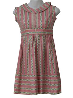 1950's Womens or Girls Day Dress