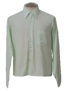 1960's Mens Totally 80s Sport Shirt