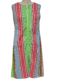1960's Womens Mod A-Line Dress