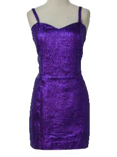 1990's Womens Wicked 90s Cocktail or Prom Mini Dress