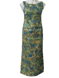 1960's Womens Cocktail Dress