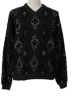 1990's Mens Wicked 90s Cosby Style Sweater