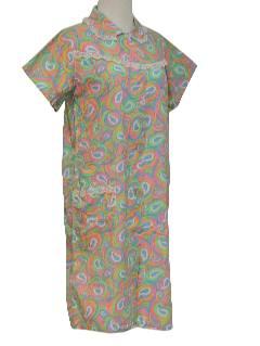 1960's Womens Frock Dress