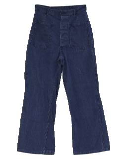 1960's Mens Bellbottom Jeans Pants