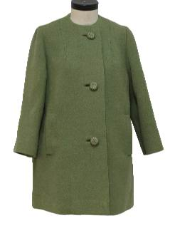 1950's Womens Mod Coat Jacket