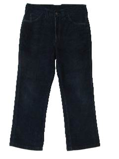 1980's Womens Corduroy Jeans-Cut Pants