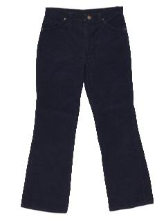 1970's Mens Corduroy Jeans-Cut Pants