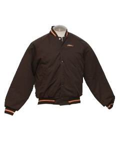1970's Mens Baseball Style Work Jacket