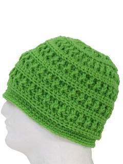 1970's Unisex Crocheted Hat
