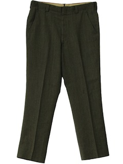 1970's Mens Mod Slacks Pants