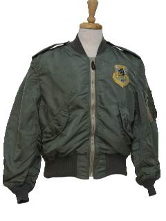 1970's Mens Military Bomber Jacket
