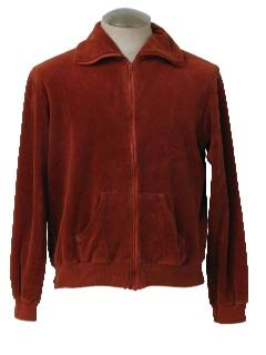 1970's Mens Velour Jacket