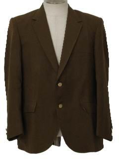 1970's Mens Blazer Style Sportcoat Jacket