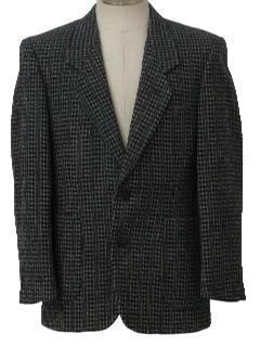 1970's Mens Wool Blazer Style Sportcoat Jacket