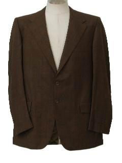 1970's Mens Blazer Sportcoat Suit Jacket