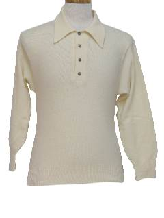 1960's Mens Knit Shirt