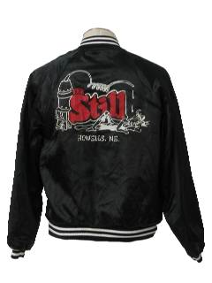 1980's Mens Totally 80s Baseball Jacket