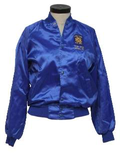 1980's Womens Baseball Jacket