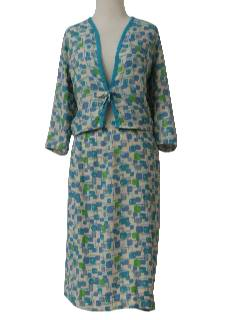 1960's Womens Mod Suit Dress