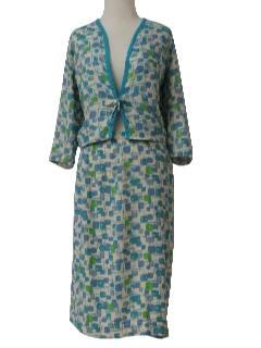 1960's Womens Mod Suit