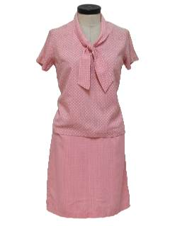 1960's Womens Maternity Suit Set