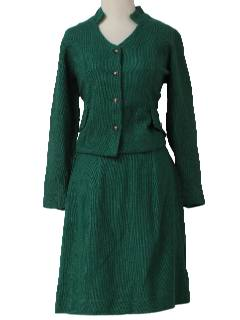 1960's Womens Mod Suit Set