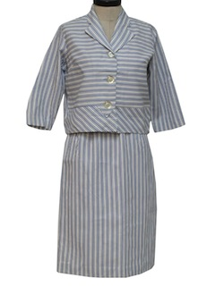 1960's Womens Suit Dress