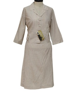 1950's Womens Suit Dress