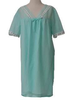 1960's Womens Lingerie Night Gown