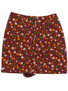 1970's Womens Mod Shorts