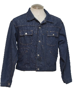 1960's Mens Mod Denim Style Jacket