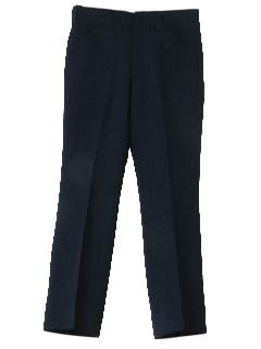 1970's Mens Solid Golf Pants