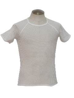 1970's Unisex Totally 80s Mesh Shirt