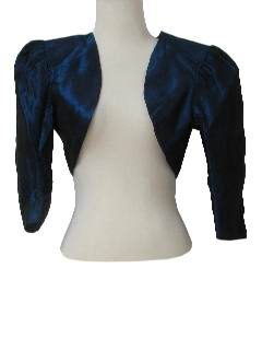 1990's Womens Wicked 90s Cocktail Shrug Jacket