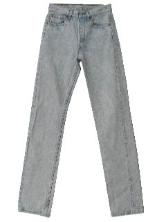 1980's Mens Totally 80s Acid WashedLevis Jeans Pants